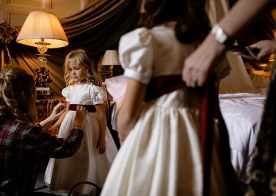 Bridesmaids at Cliveden House