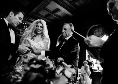 The ceremony at Cliveden House