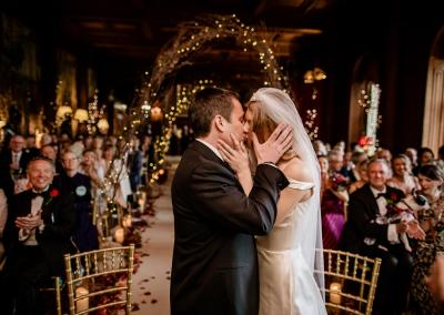 First kiss at Cliveden House