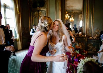 Meeting guests at Cliveden House