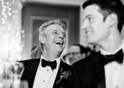 Laughing Father at Cliveden House