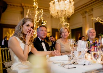 Tearful bride at Cliveden House