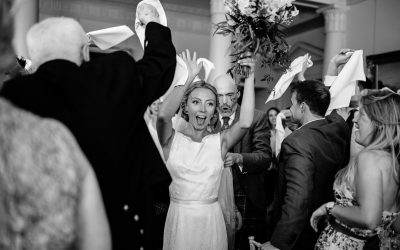 An English-meets-Scottish Country House Wedding at North Cadbury Court, Somerset