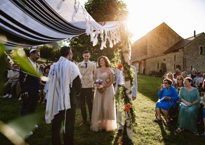 The Jewish ceremony