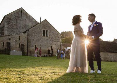Jewish wedding romantic photo