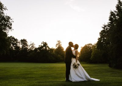Romantic photo Grittleton House Wedding