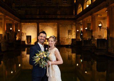 Bride & Groom Roman Baths