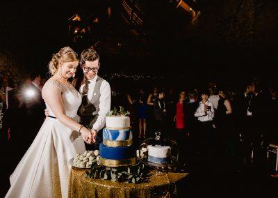 Priston Mill cake cutting