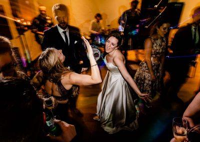 Dance floor at Priston Mill