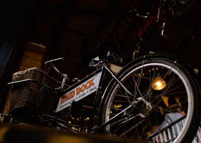 Mud Dock bike sign