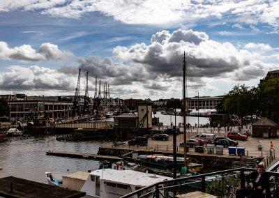 The Bristol docks