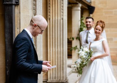 Coombe Lodge wedding, reading