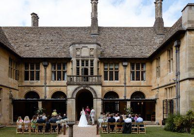 Coombe Lodge wedding, the venue