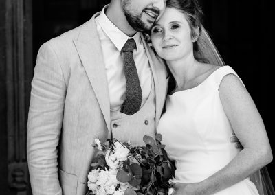 Coombe Lodge wedding, Bride and Groom