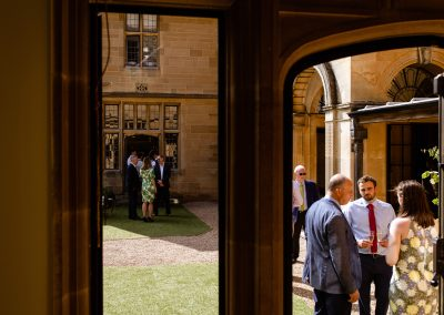 Coombe Lodge wedding, more mingling