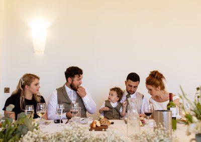 Coombe Lodge wedding, wedding table